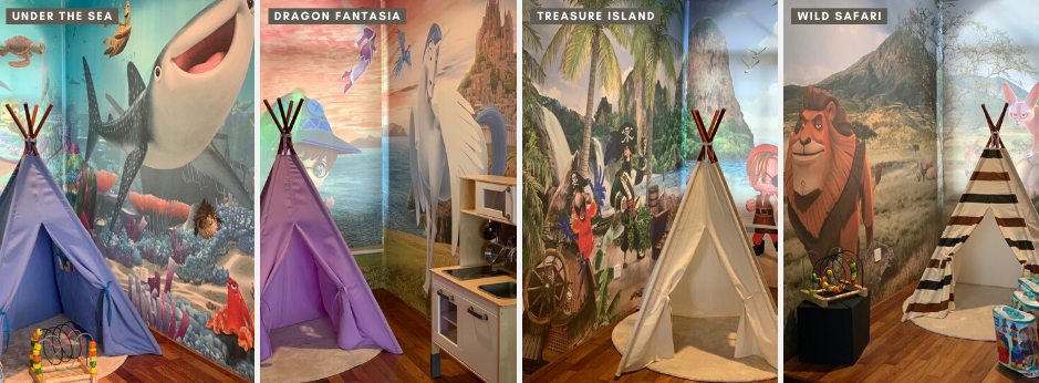 Fresno Family Suite with Themed Corner